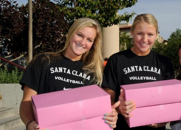 Santa Clara Volleyball's Walk 4 Pancreatic Cancer May 12 (TOMORROW!) on the Mission Campus!