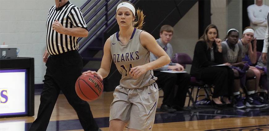 Women's Basketball Hangs On For ASC Win
