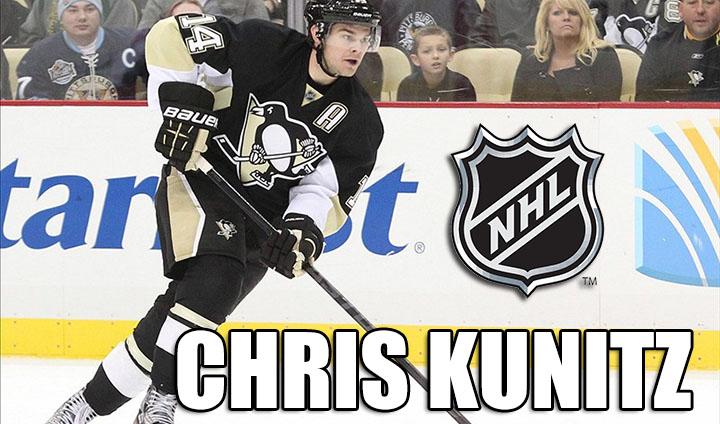Former Bulldog All-American Chris Kunitz Receives NHL Contract Extension