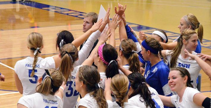 Volleyball's season ends in dramatic fashion in NACC Tournament