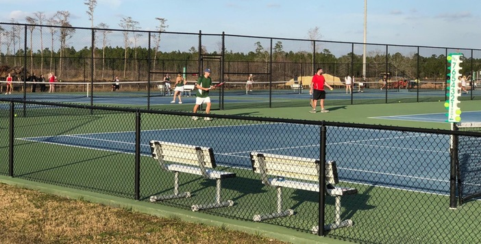 Gators Boys and Girls Tennis Teams  Ace Clinch 5-0 to Open Season with Win at Home