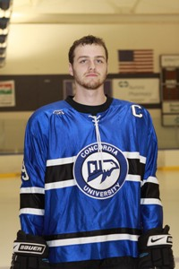 Another close loss for CUW men's hockey