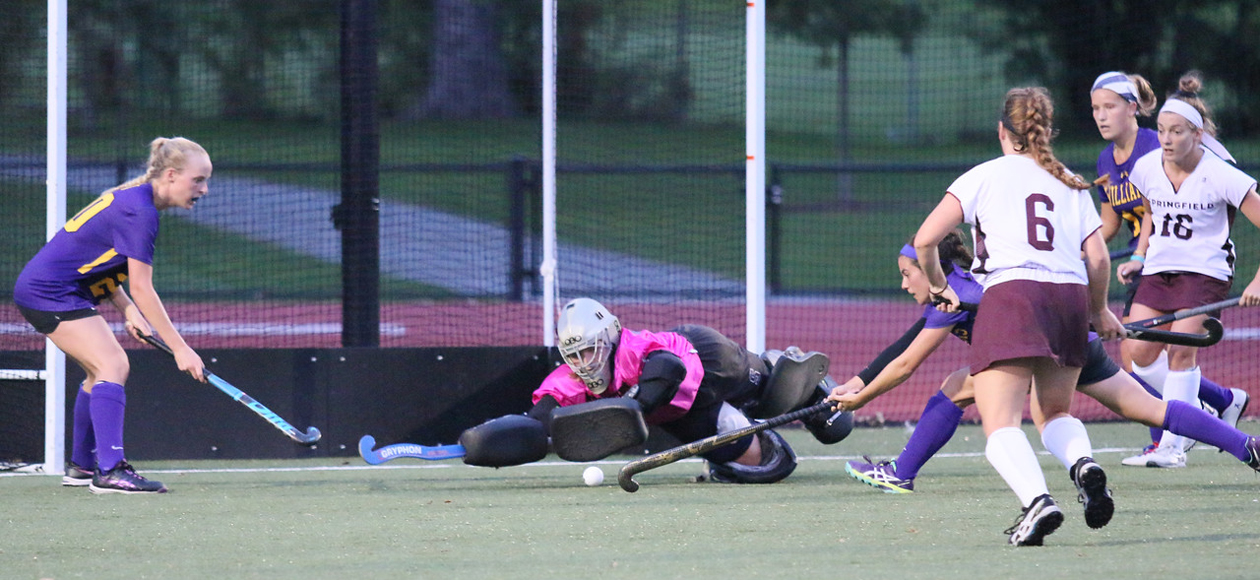 No. 13 Williams Tops Field Hockey, 3-0