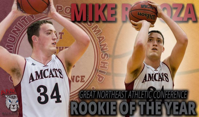 Rapoza Named GNAC Rookie of the Year