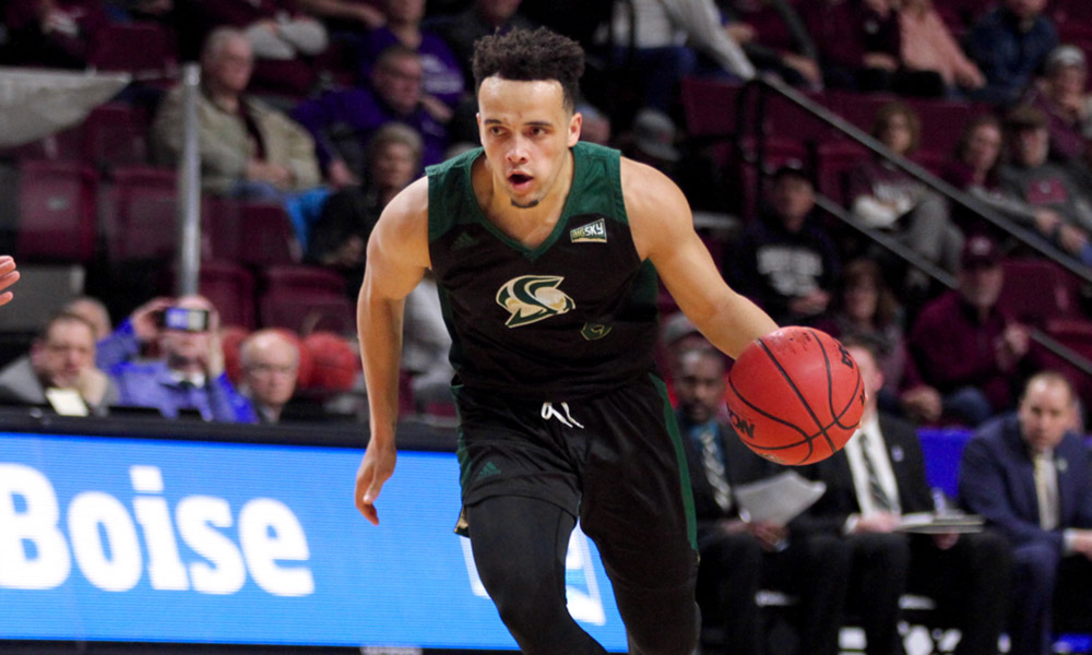 SPIRITED 2ND HALF COMEBACK FALLS JUST SHORT IN MEN'S HOOPS' 79-73 BIG SKY TOURNEY LOSS TO MONTANA