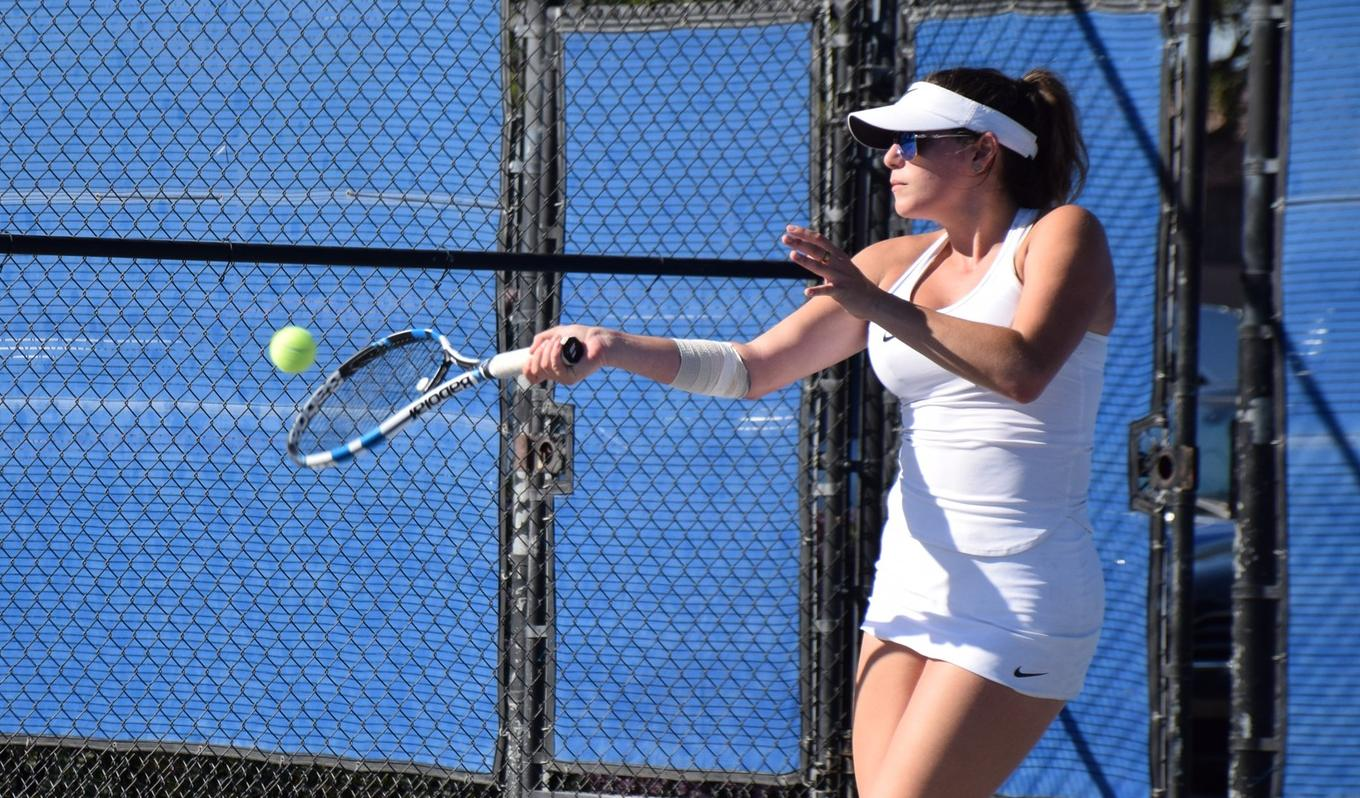 Women's tennis team falls to top-ranked Cerritos in semifinals