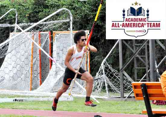 Caltech's Bourzutschky Named Academic All-American