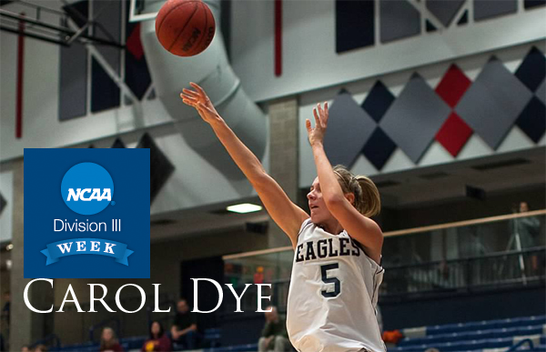 Monday's D3 Week Feature: Carol Dye