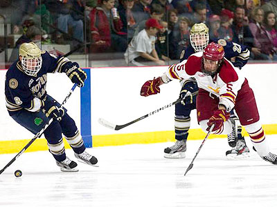 FSU Hockey Drops Series Finale To Irish