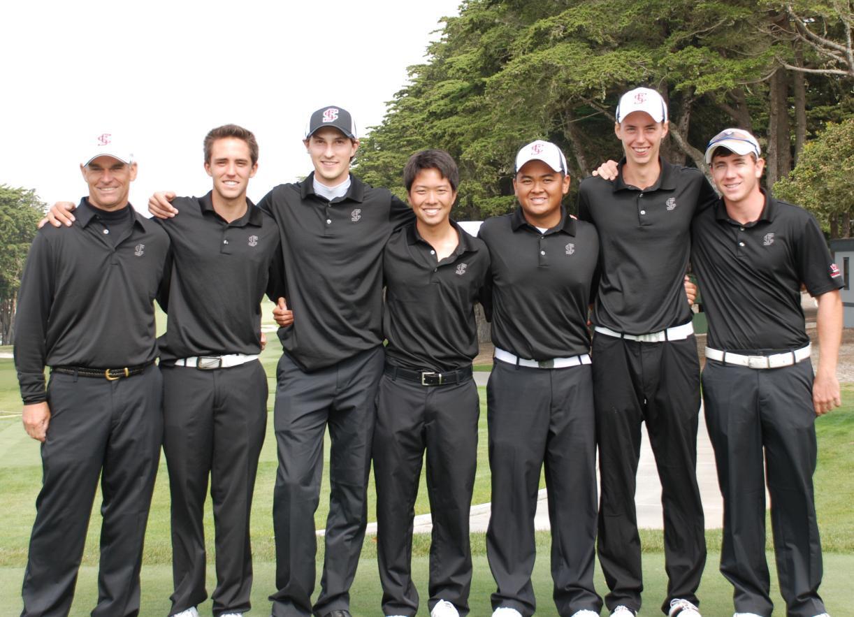 "SCU Men's Golf Freshman ""Fab Four"" Ranked No. 1 in NCAA"