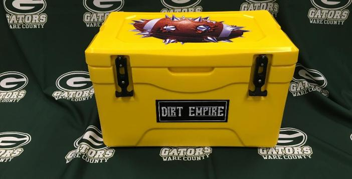 Ware County Booster Club Launches Dirt Empire Cooler Sale