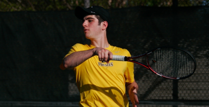 Tennis Fares Well in Home Opener