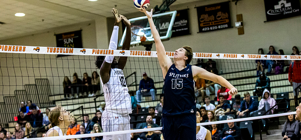Men's Volleyball Falls to the Railsplitters