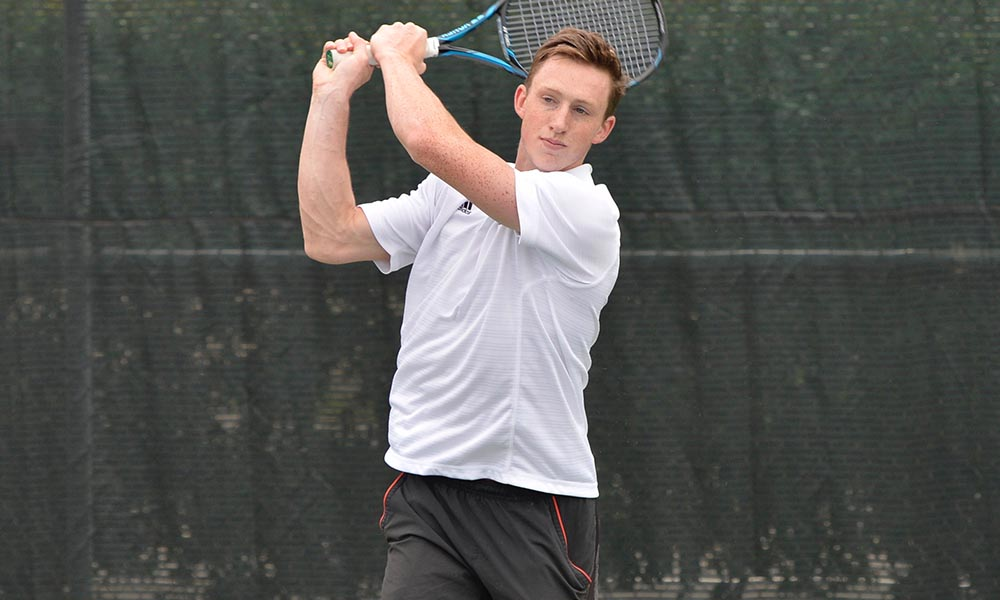 MEN'S TENNIS FALLS AT HOME TO NEVADA, 5-2