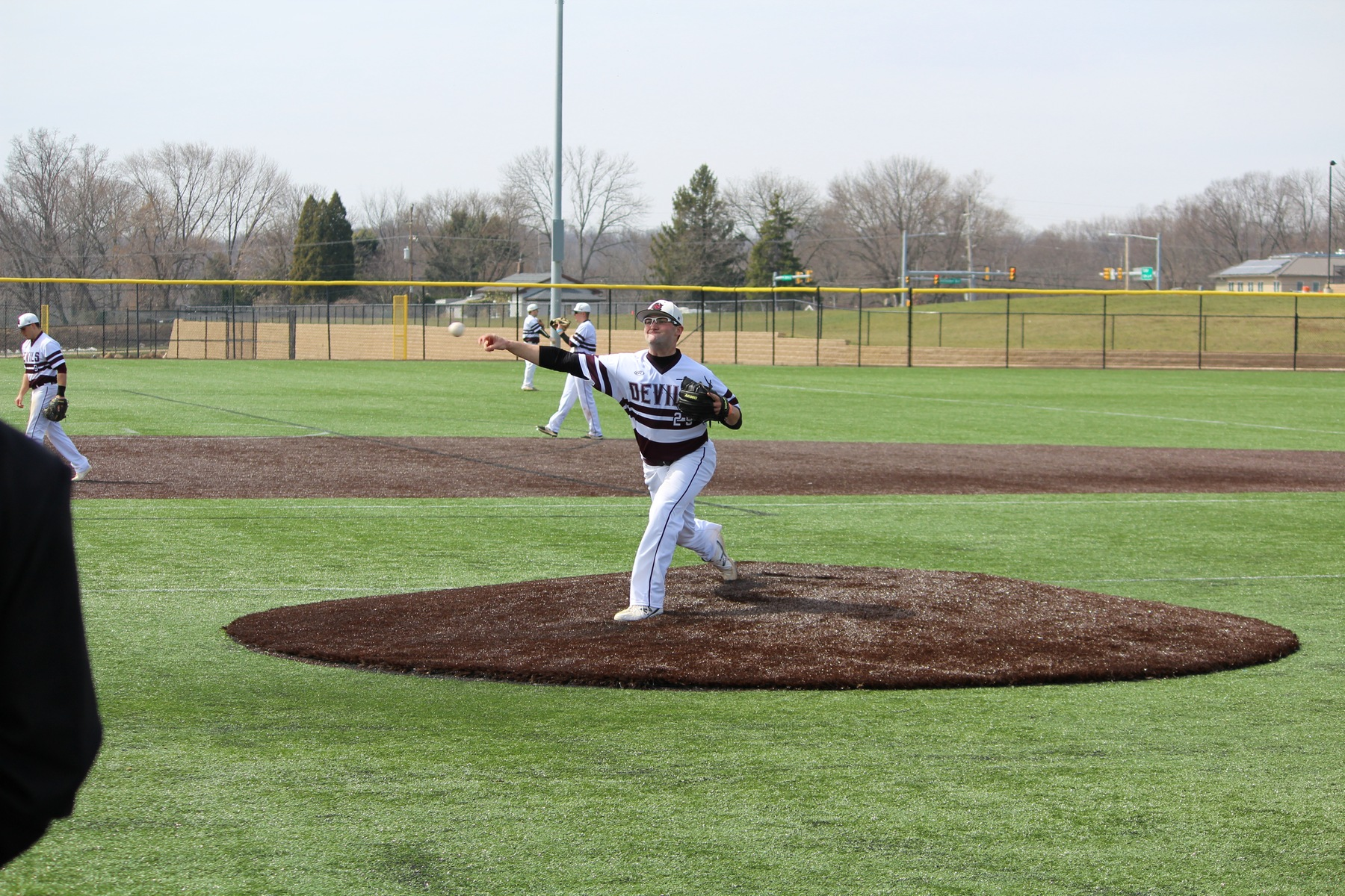 USciences Baseball Battles Bloomfield In Relocated DoubleHeader