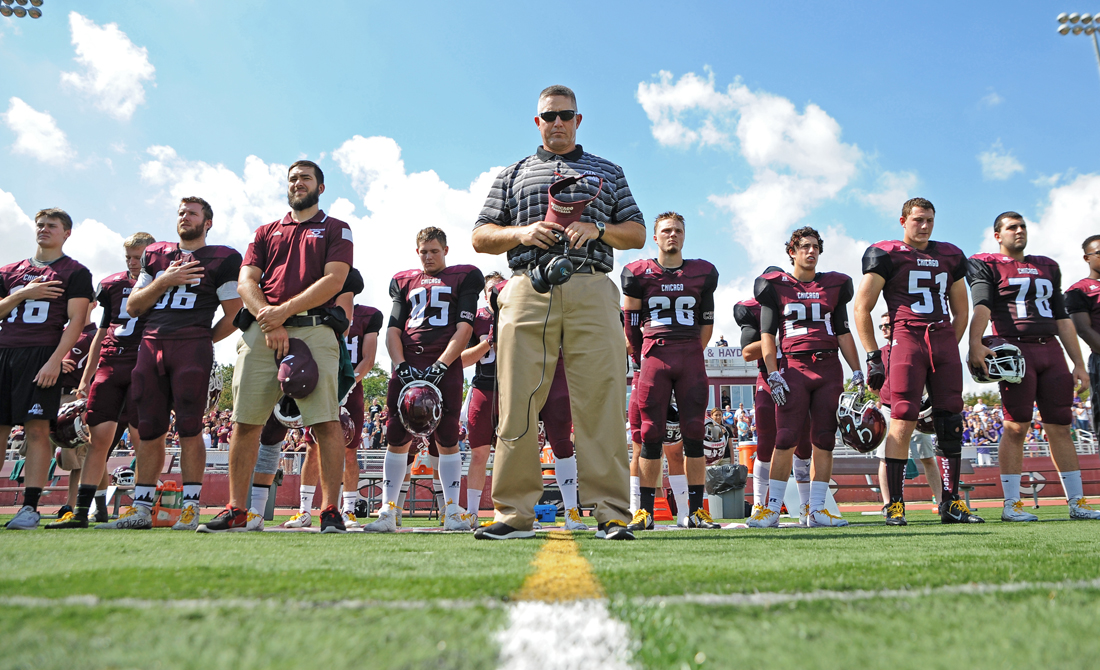 Led by fifth-year head coach Chris Wilkerson, the UChicago football team was picked to finish second in the MWC North Division in the league's preseason poll.