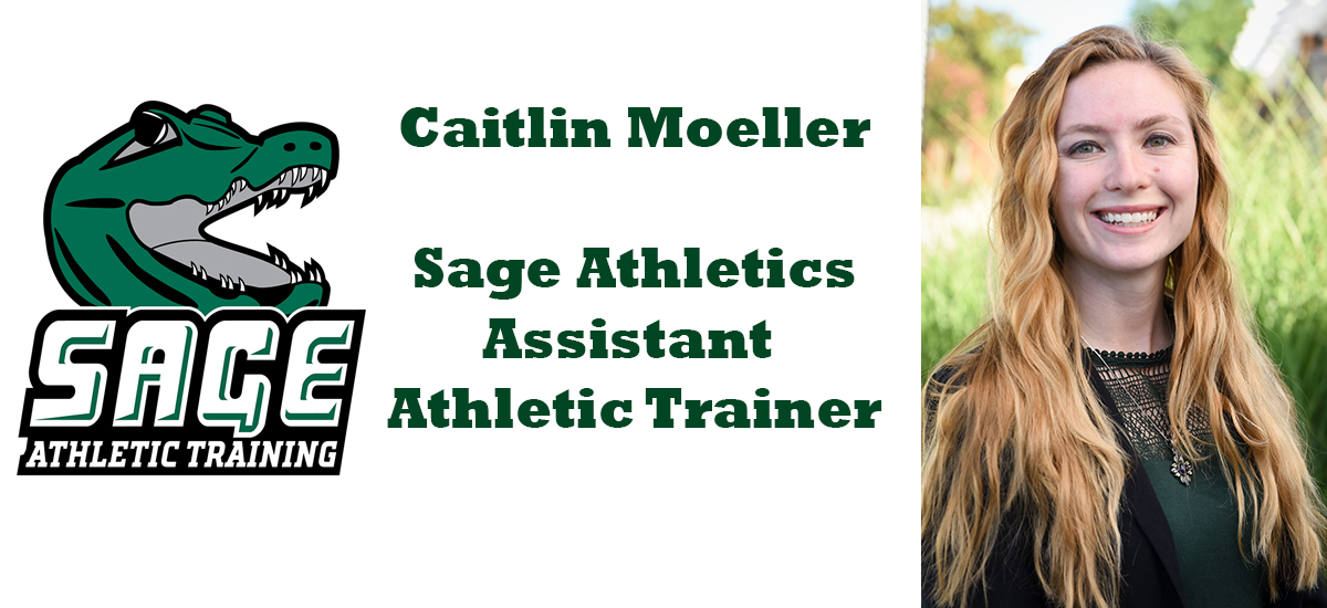 Caitlin Moeller named Sage's Assistant Athletic Trainer