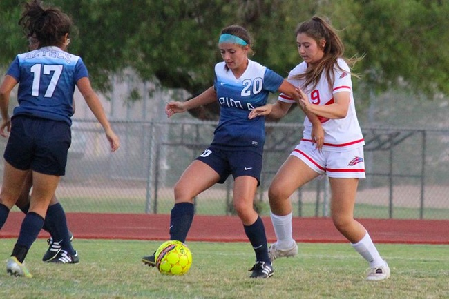Pima Blanks Women's Soccer, 3-0