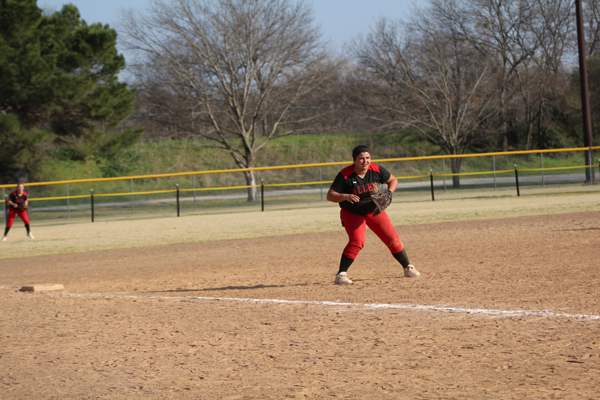 Morgan Wayman leads The Lady Red Devils to a 26-2 win over Missouri Valley College JV