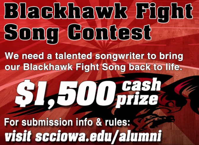 Photo for SCC Fight Song contest deadline Dec. 5 - click on link for details!