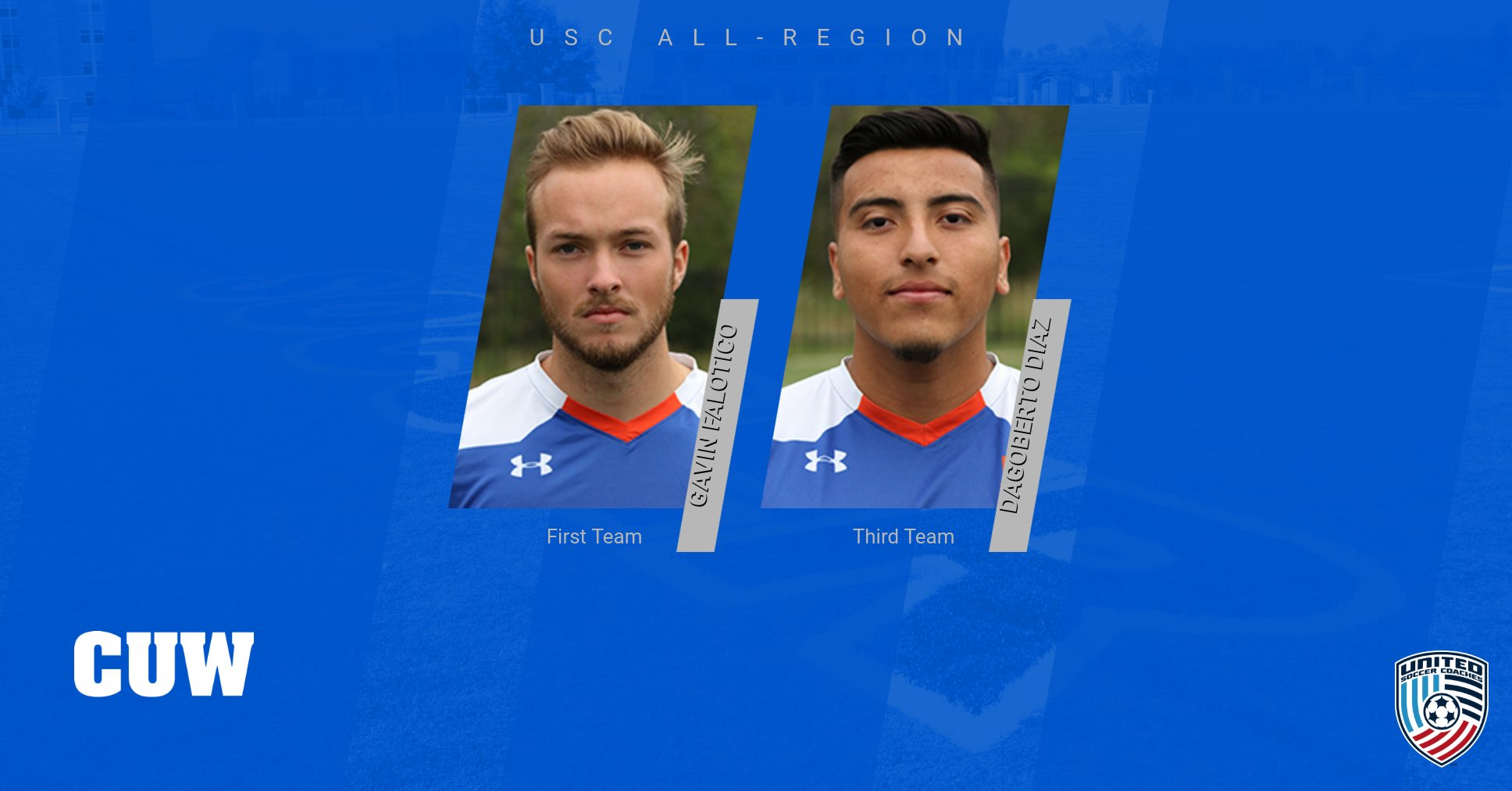 Men's Soccer duo claims USC All-Region honors