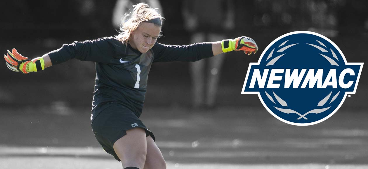 Boucher Named NEWMAC Women's Soccer Defensive Player of the Week