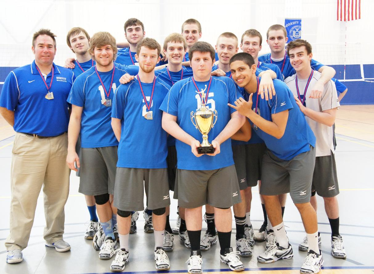 SUNYIT Sweeps Lancaster Bible College 3-0 to Claim 2014 NEAC Men's Volleyball Championship