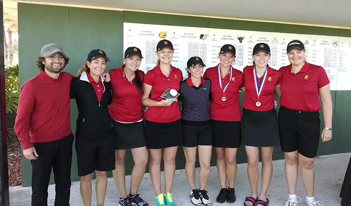 Ferris State Women's Golf Wins Tournament In Daytona Beach