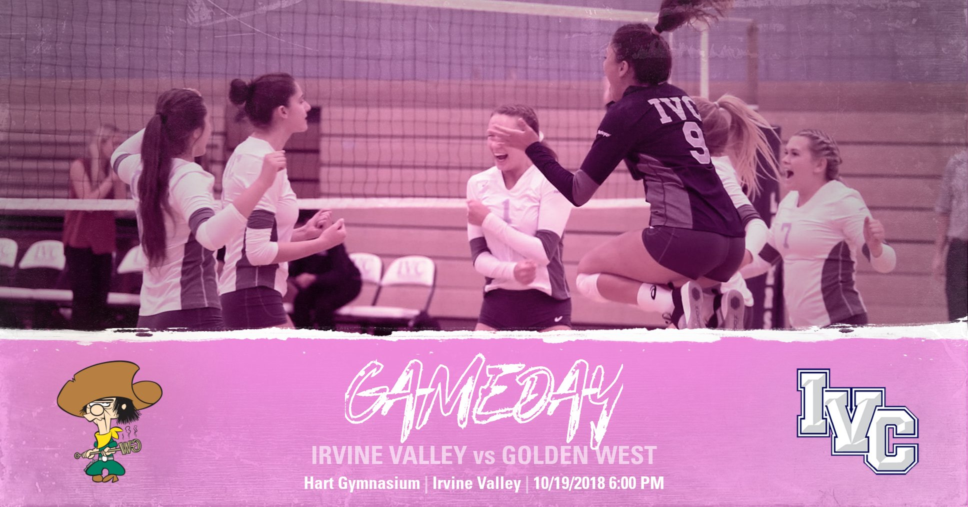 Volleyball team hosts Golden West in Dig Pink Night on Friday