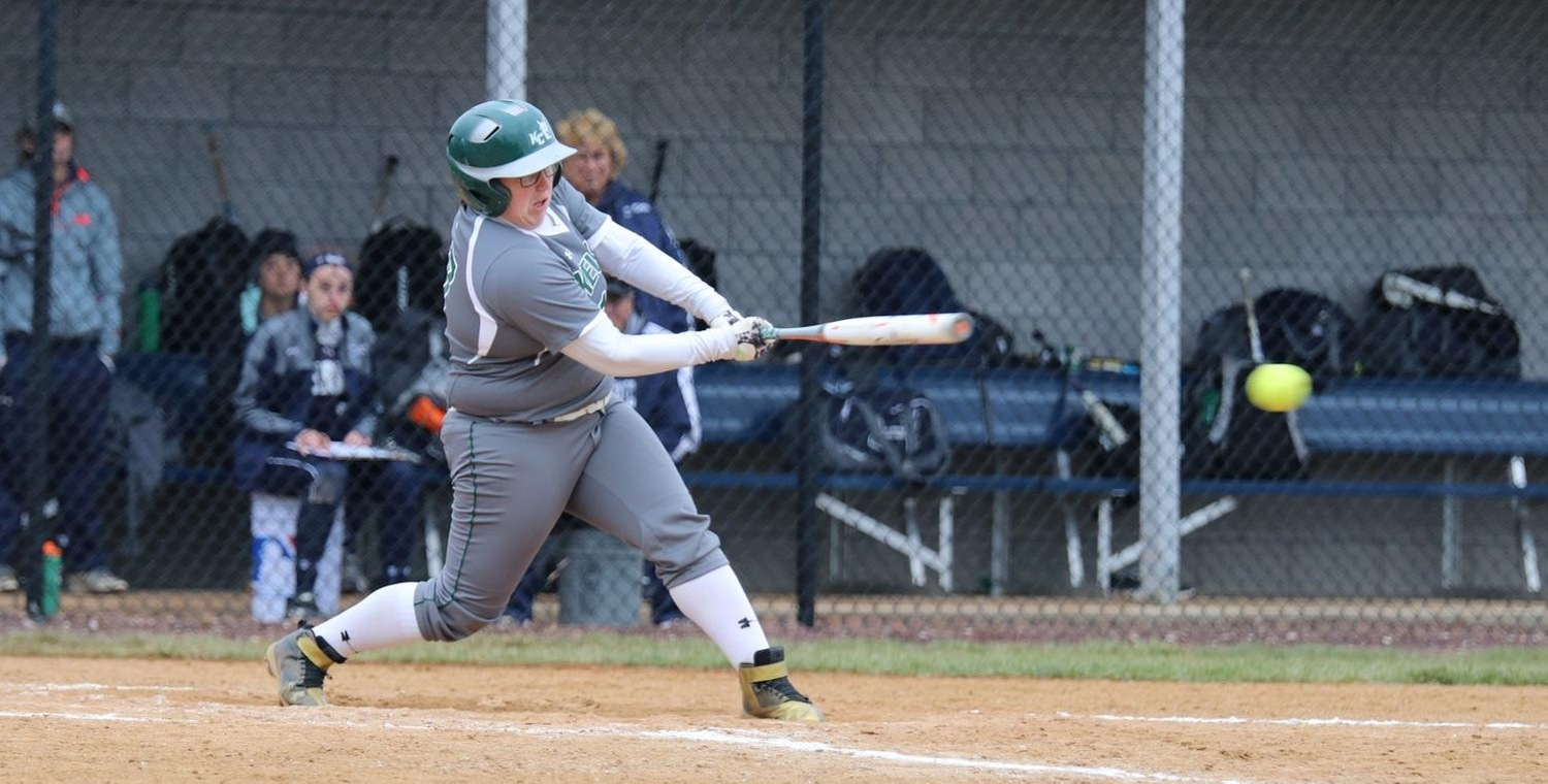 Mickenzie Palmer had an RBI double for Keuka College in Game 2