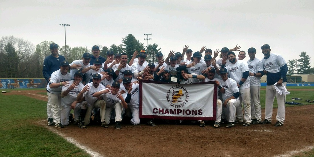 GNAC Champs! Baseball Fourpeats with 6-5 Win over St. Joe's