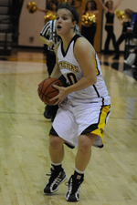 Michelle Kurowski scored 19 points against Stony Brook, giving her 1,000 in her career.