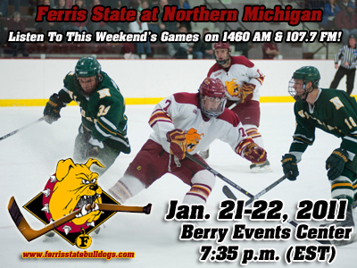 Bulldogs Skate At Northern Michigan This Weekend