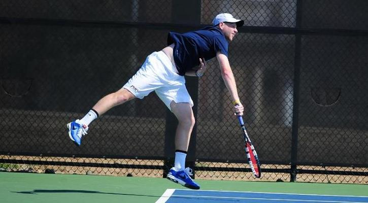 #21 GC Men's Tennis Team Takes Down #35 UNG, 7-1