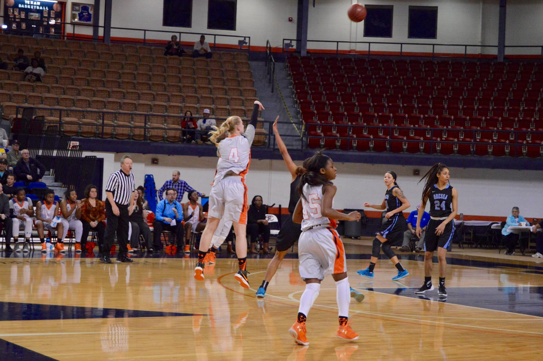 Lady Texans Impress Against Odessa