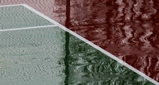 Tech Tennis Match Canceled Due to Weather