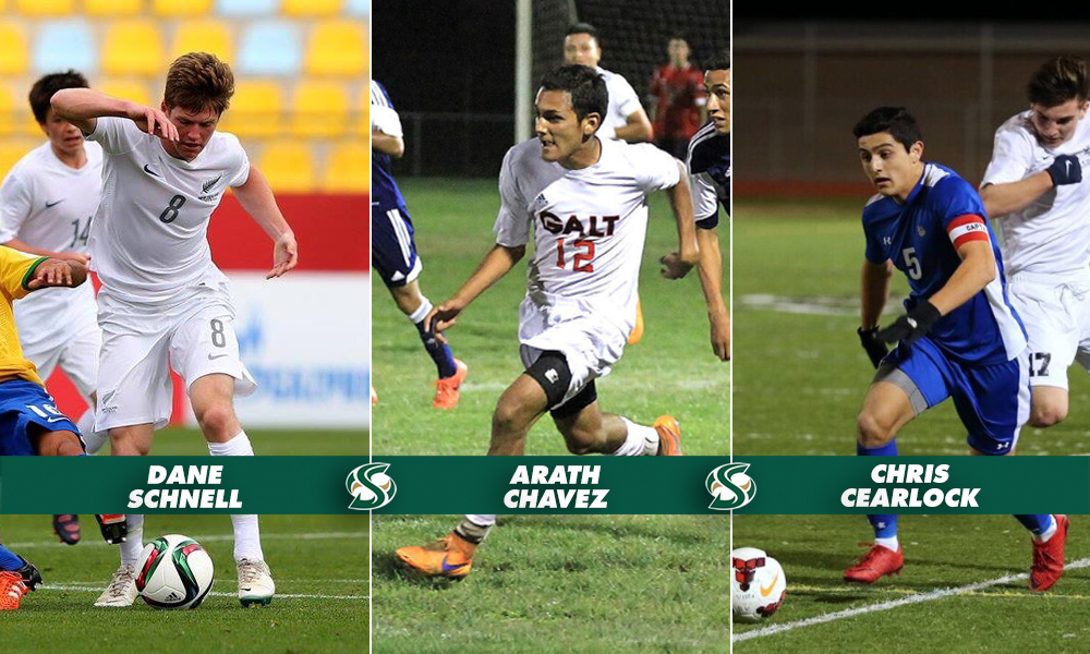 MEN'S SOCCER SIGNS TWO MORE TO NATIONAL LETTERS OF INTENT, ADD ANOTHER TO ROSTER