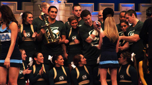 CHEER TAKES THIRD AT UCA CHAMPIONSHIPS