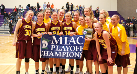 Concordia women's basketball captures 2011 MIAC playoff title