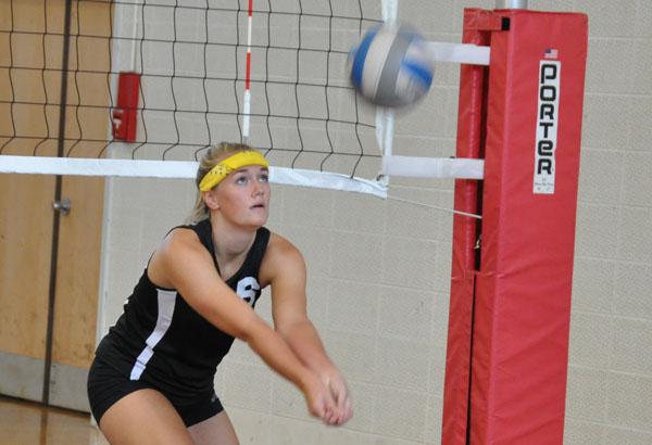Volleyball: Panthers end Huntingdon Jubilee with two losses