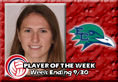 Emma Mancini-Endicott, Women's Volleyball: Player of the Week
