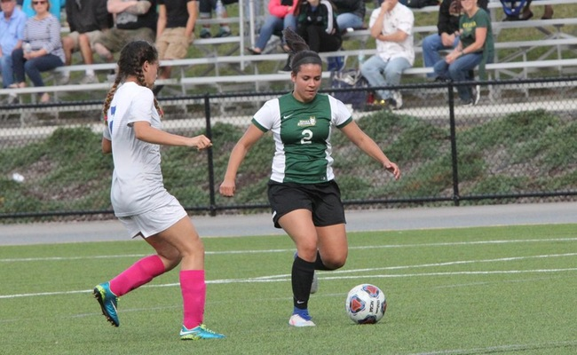Amy Sedita (2) scored a pair of goals for Keuka College on Sunday -- Photo by Ed Webber