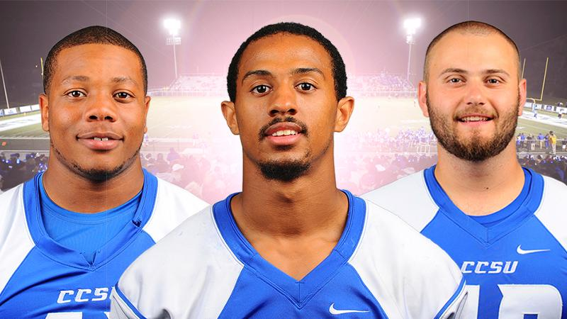 Watson, Hollomon, Calitri Earn NEC Honors