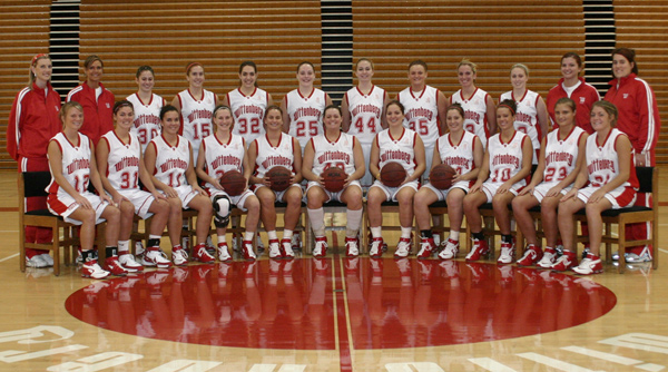 2007-08 Wittenberg Women's Basketball