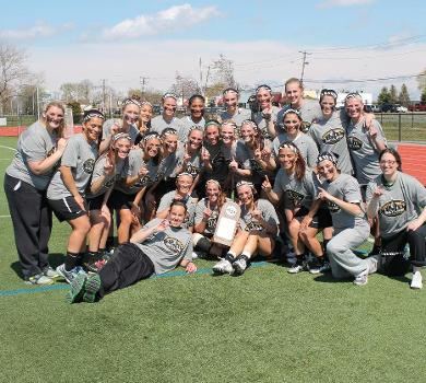 Rams Capture 2014 Skyline Women's Lacrosse Title