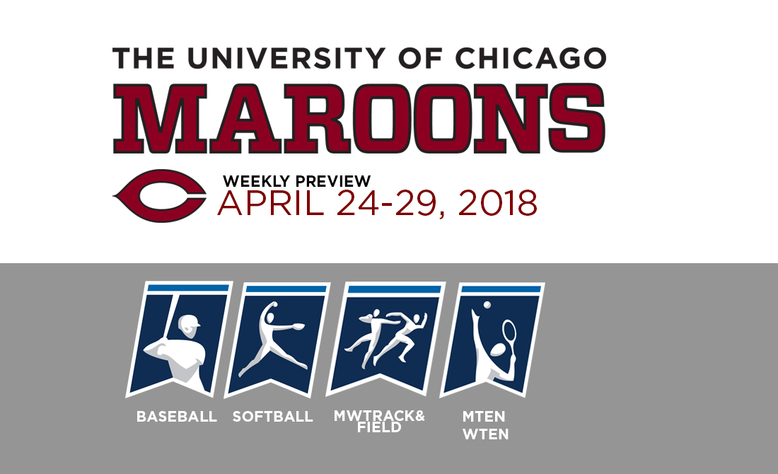 UChicago Athletics Preview: April 24-29