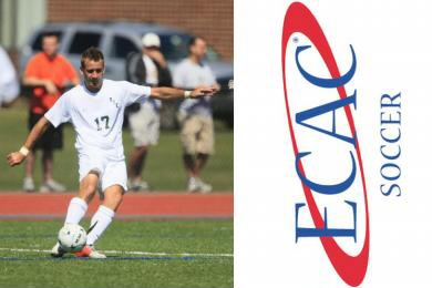 Brantmeyer's Hat Trick Sends Rams to ECAC Finals