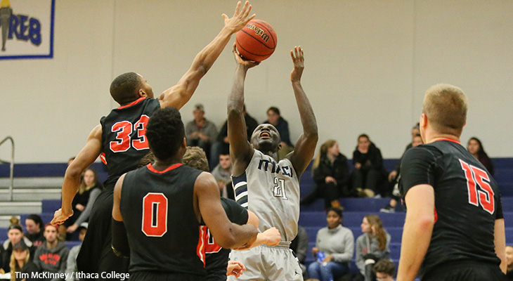 Wells Men's Basketball Falls On The Road At Ithaca