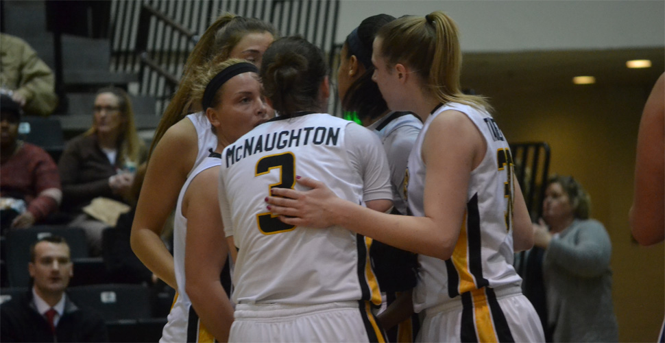 Women's Basketball Opens Tough Weekend at Vermont