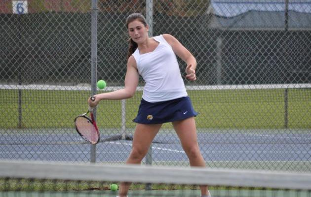 Coker Defeats Montevallo in Tennis Against Breast Cancer Match
